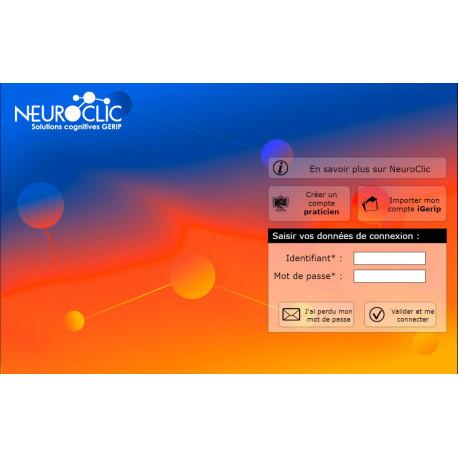 Abonnement mensuel à NEUROCLIC