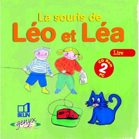 LA SOURIS DE LÉO ET LÉA CD2