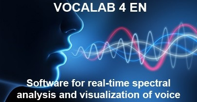 Software for real-time spectral analysis and visualization of voice
